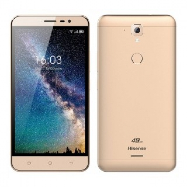 Hisense F23 Grey and Gold / 4G / Dual Sim / IPS 5.5'' 1280 x 720 / 2GB/16GB